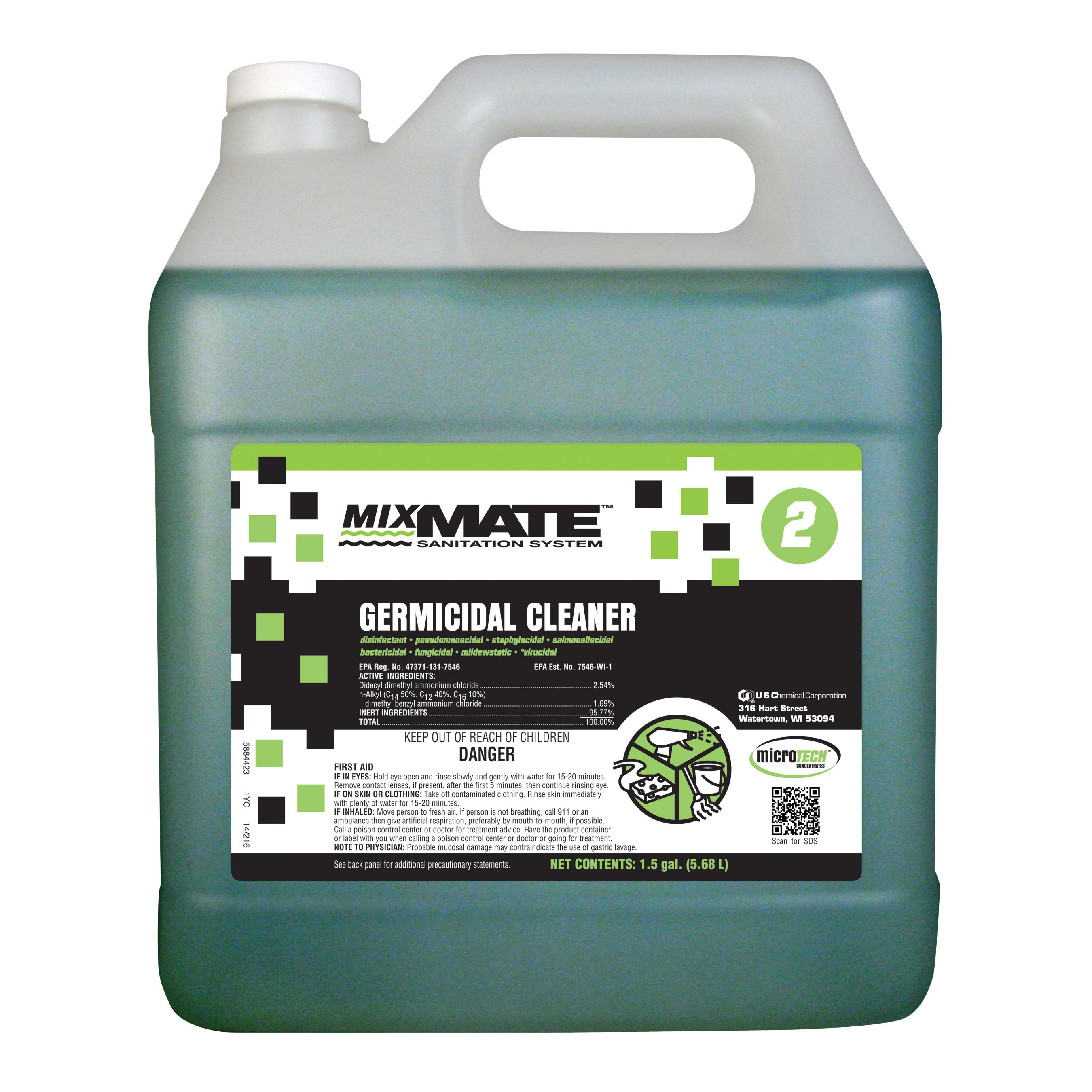 5341365 2_MIXMATE__MICROTECH_GERMICIDAL_CLEANER