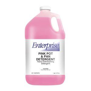 Enterprise Pink Pot & Pan Detergent