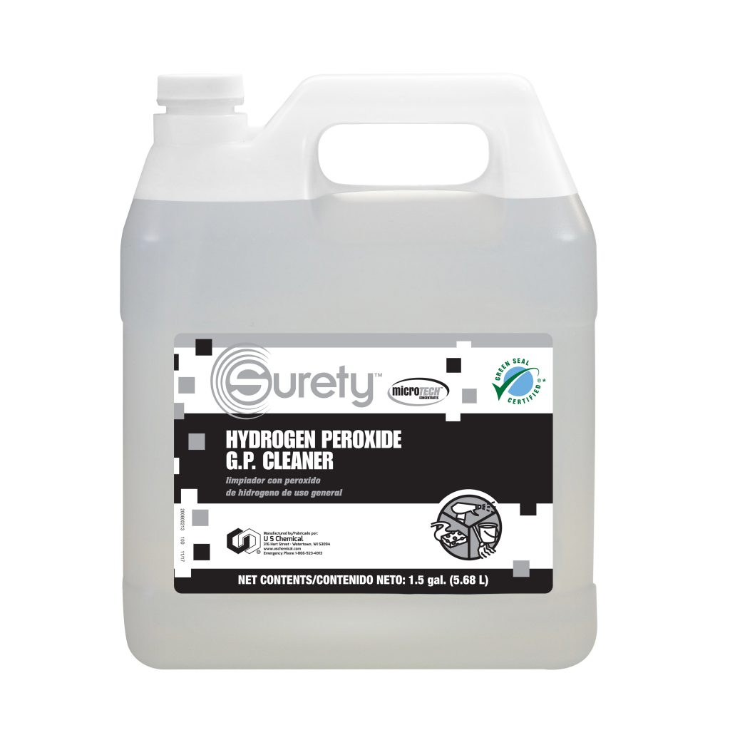 Surety™ MicroTECH™ Hydrogen Peroxide General Purpose Cleaner