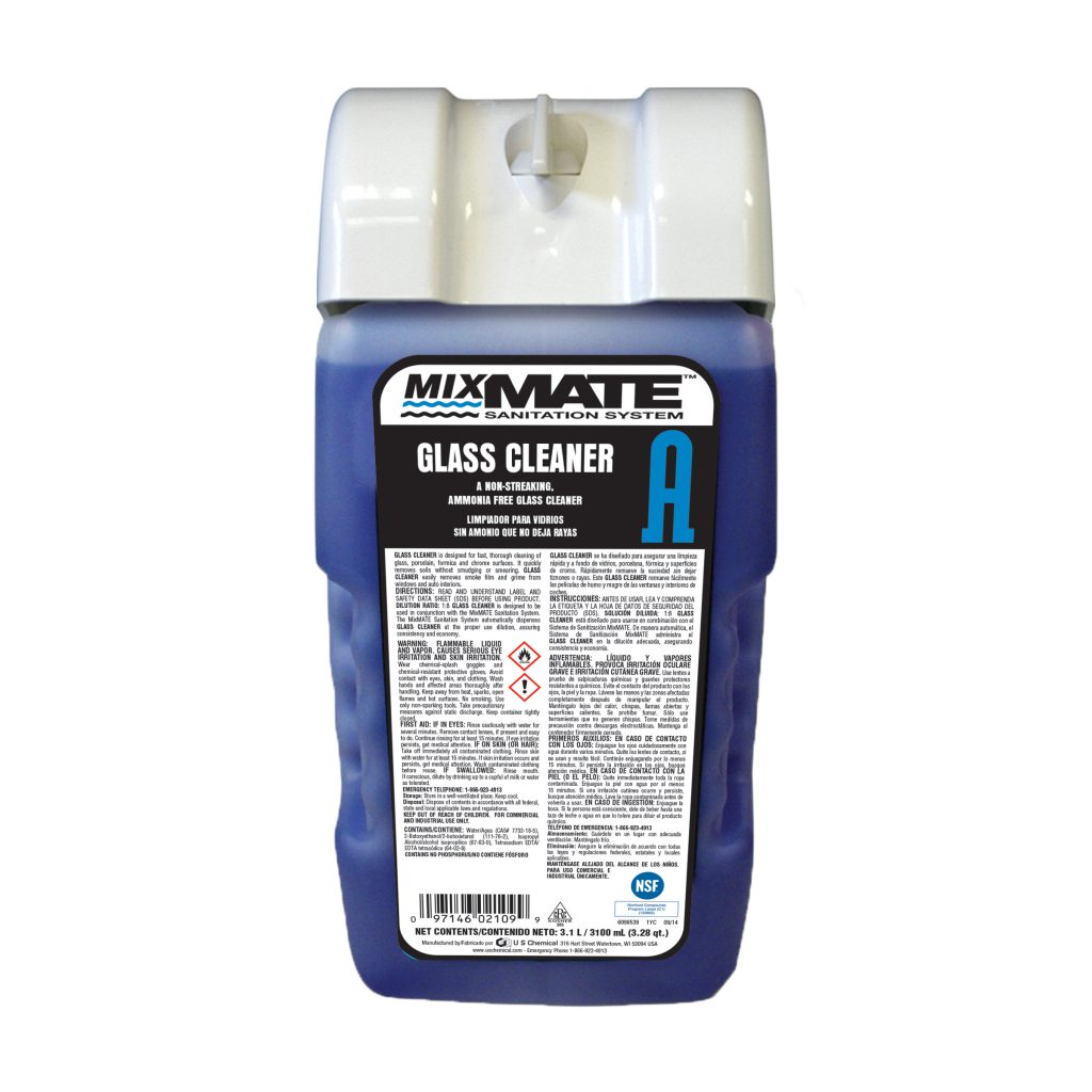 MixMATE™ Glass Cleaner A