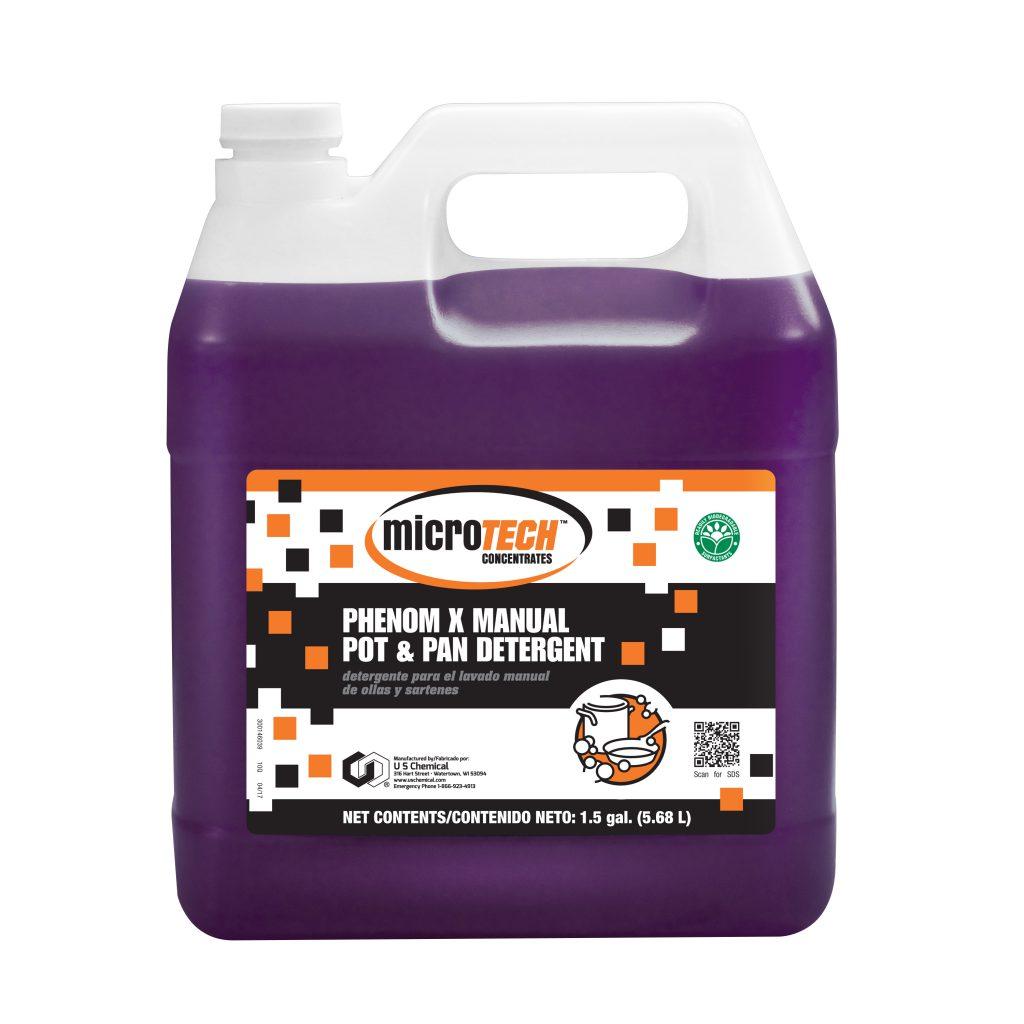 MicroTECH™ Phenom X Manual Pot & Pan Detergent