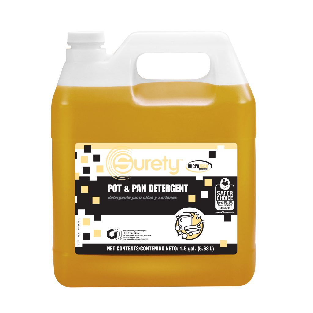 Surety™ MicroTECH™ Pot & Pan Detergent