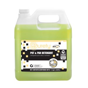 Surety™ MicroTECH™ Pot & Pan Detergent