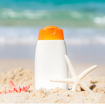 Removing Sunscreen Stains
